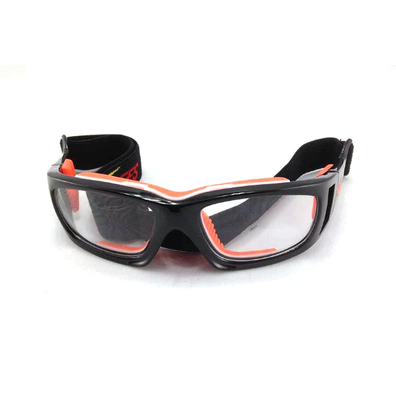 Prescription Sports Glasses for Basketball Sports Gear Removable Gear Can Put Magnifying