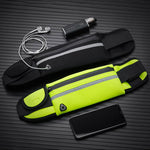 Waterproof Running Waist Pack - Ultra Light Bounce-Free Workout Waist Pack Exercise for Smartphones and Valuables