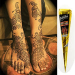 Natural Temporary Tattoo for Body Art Henna Tattoo Kit