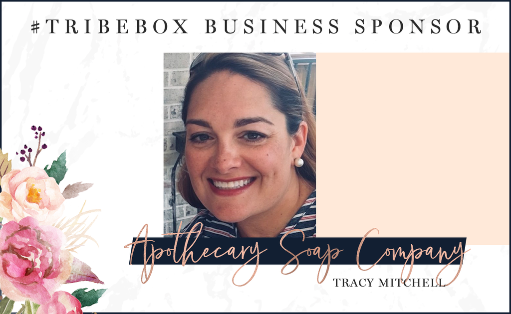 Meet our #tribebox Sponsor: Apothecary Soap Company