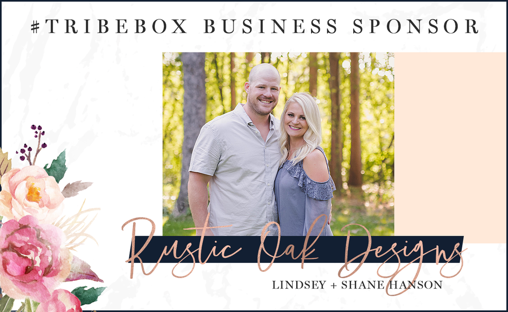 Meet our #tribebox Sponsor: Rustic Oak Designs