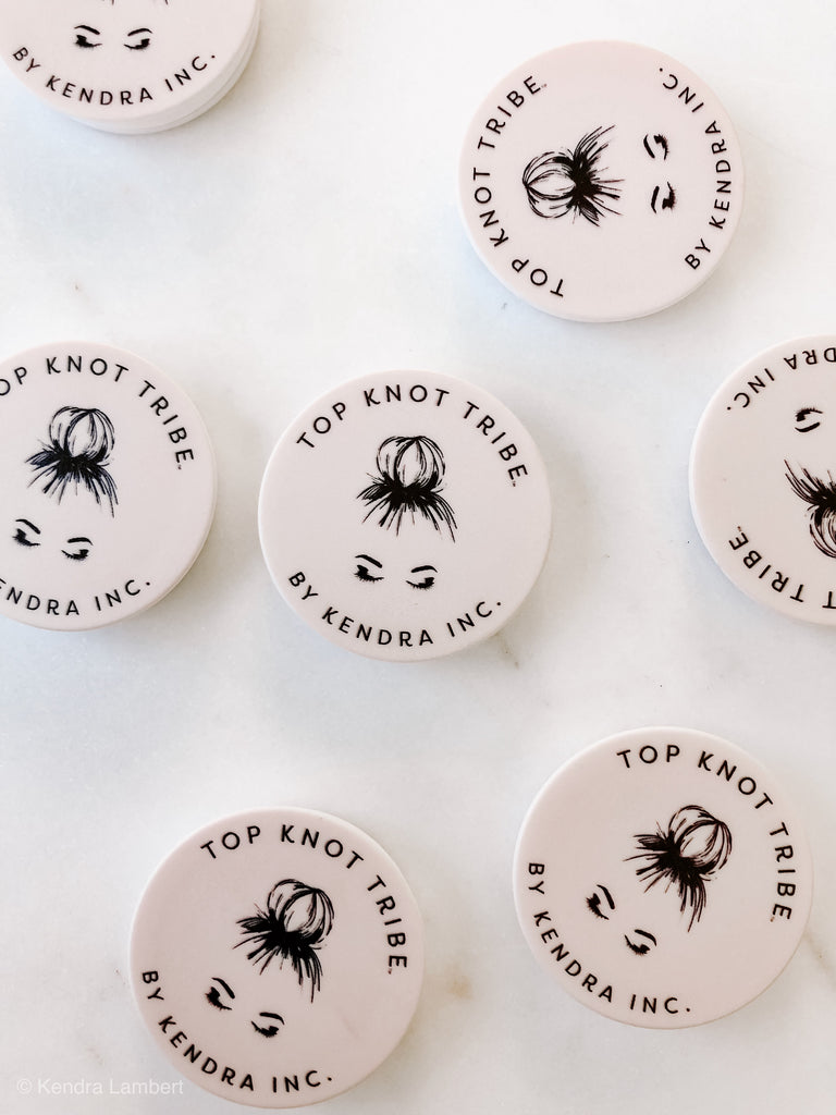 Top Knot Tribe Pop-Socket