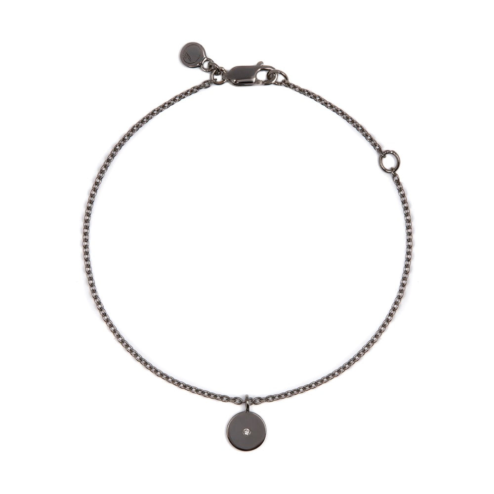 Stella - Bracelet - Diamond - Black Rhodium - Louise Varberg Jewellery