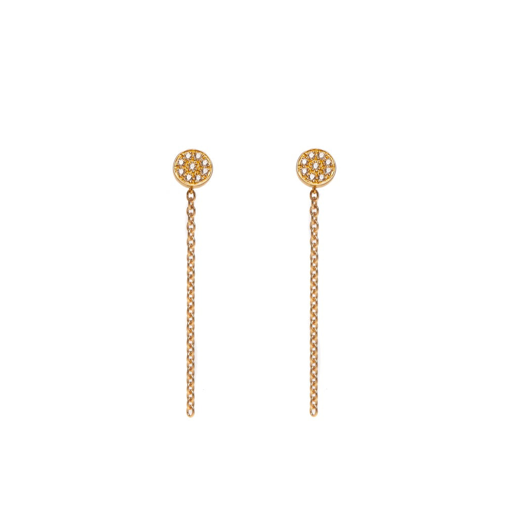 Molly - Earrings - Yellow Gold - Louise Varberg Jewellery