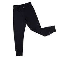 Balck Chino Pants Joggers made of organic cotton and elastane