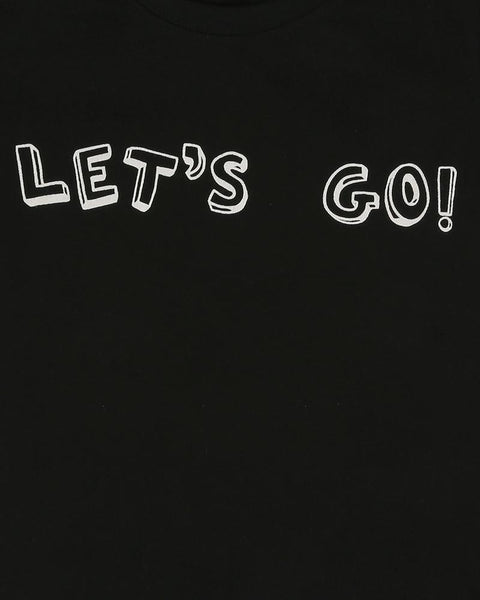 Let's Go Black T-Shirt