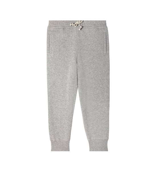 Grey sweatpants for kids. Made of 100% organic cotton.