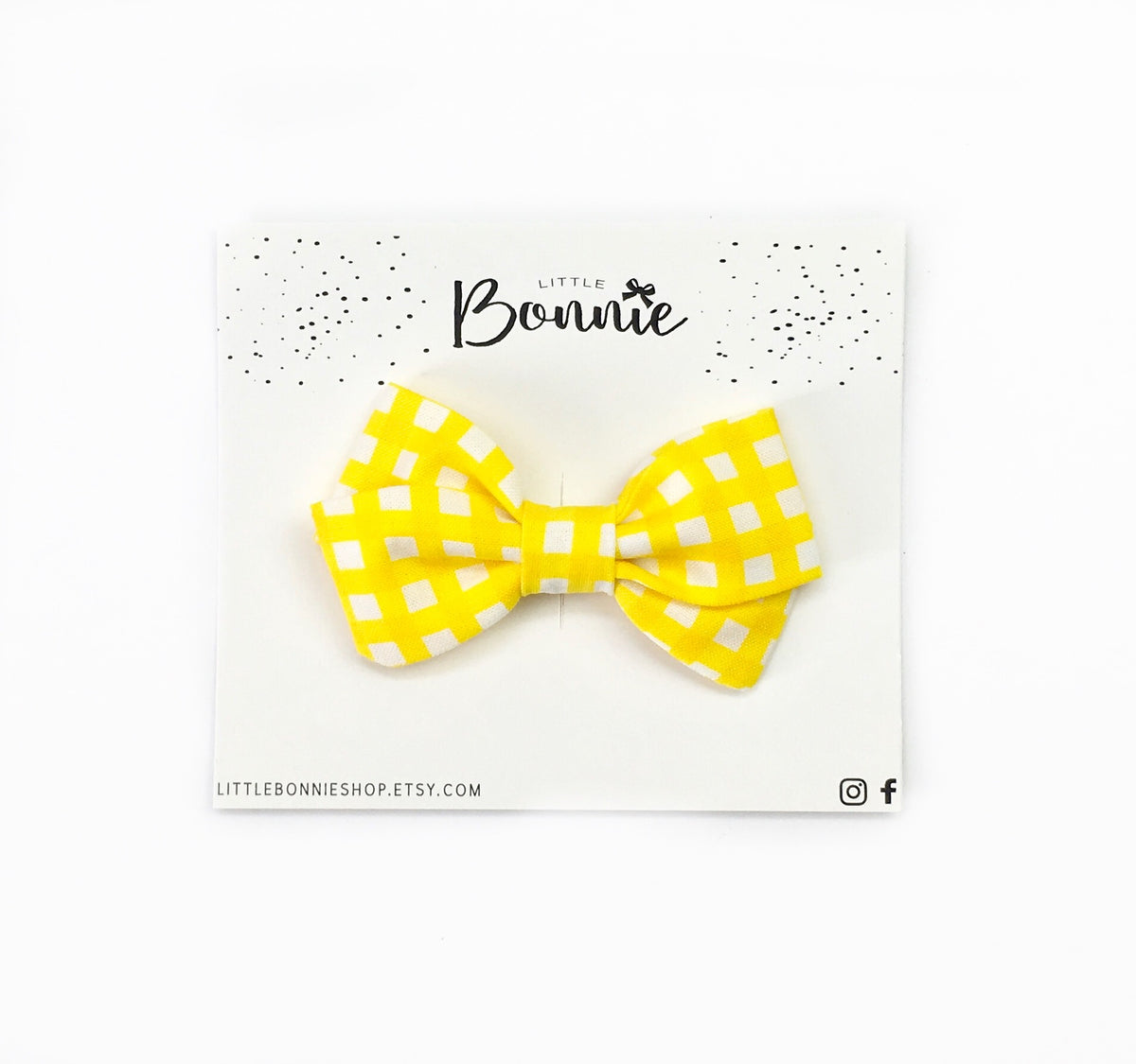 Mini Dolly Plaid Yellow