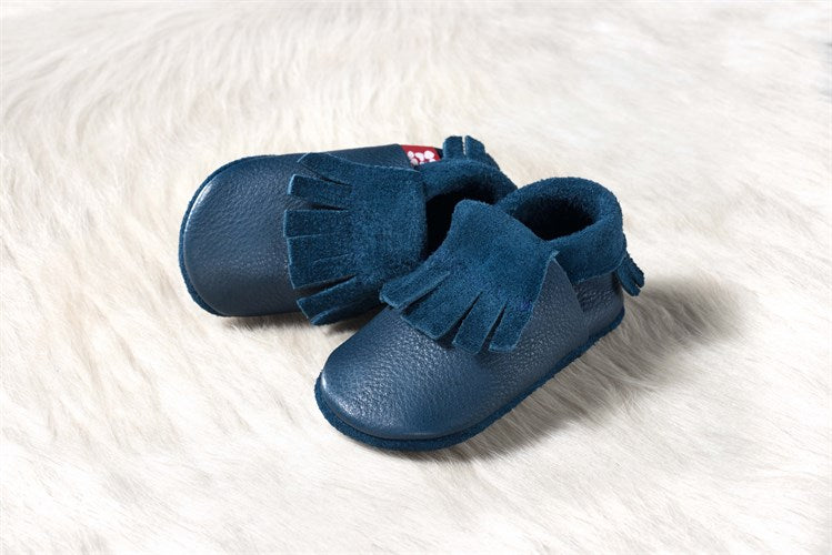 Baby Moccasin Blue