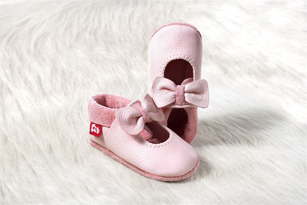 Baby Soft Shoes in Pink