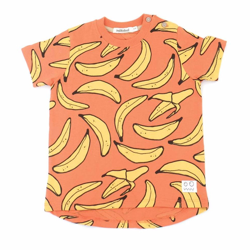 Indikidual banana t-shirt. Made ethically in India with 100% organic cotton.