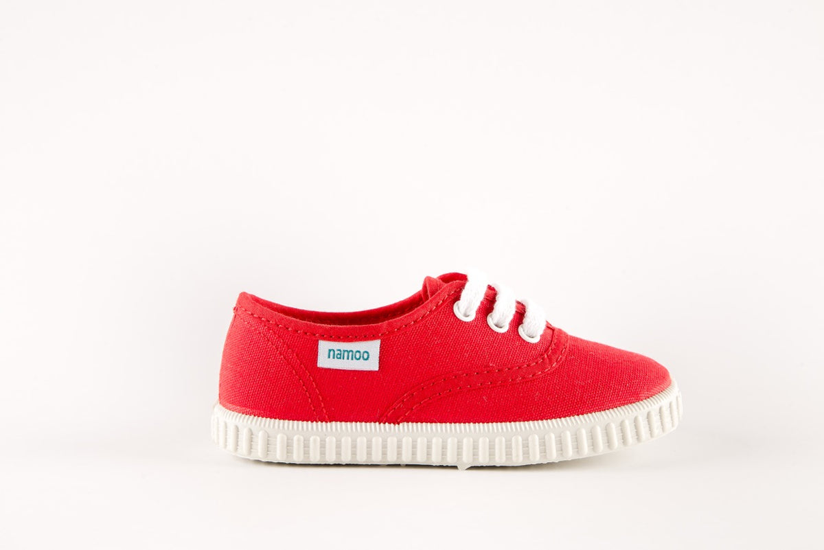 Lace Sneaker Red