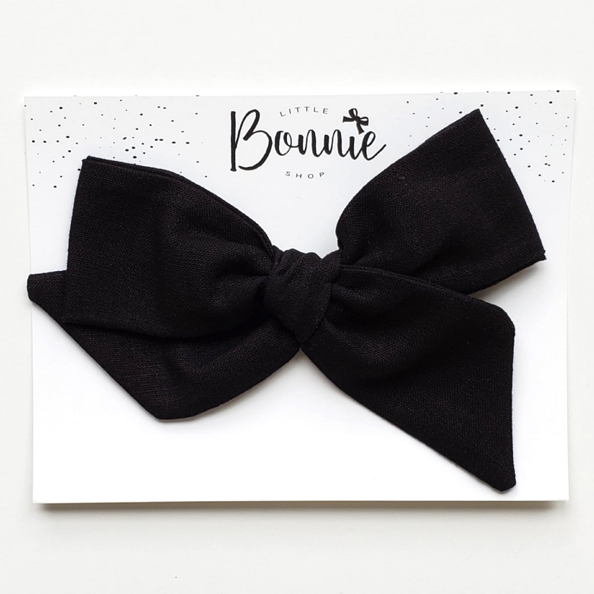 Black Oversized Pinwheel Bow