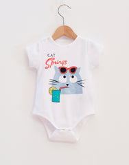 White Cat Onesie