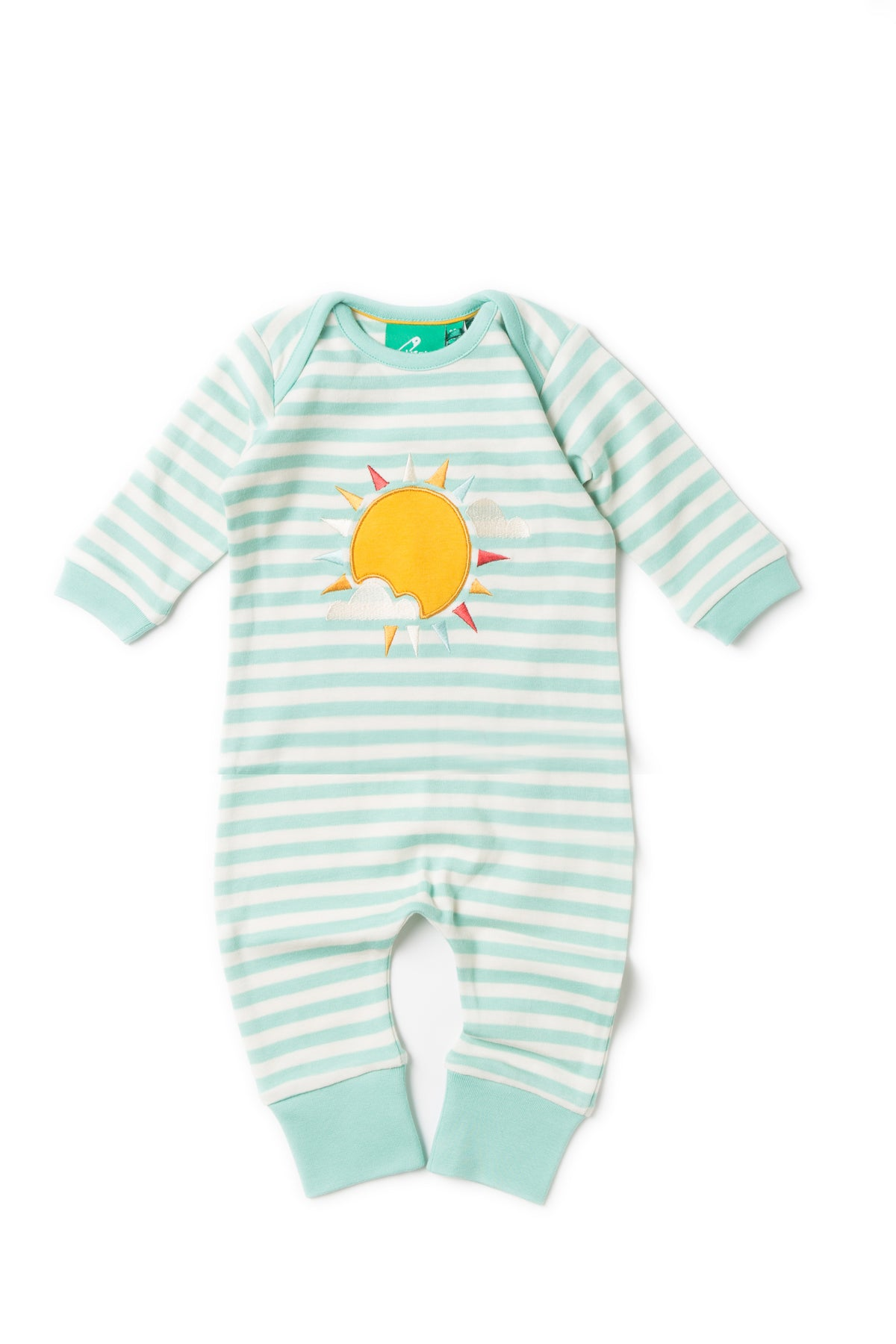 Follow The Sun Applique Babygrow