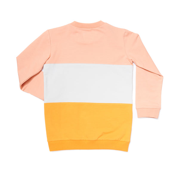 Sunset Block Sweater