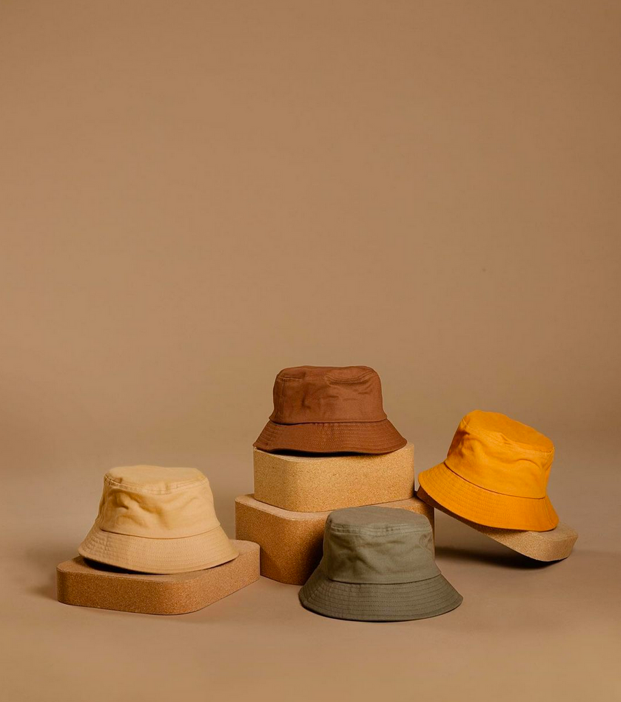 BabyMocs fisherman kids bucket hat in different colours.