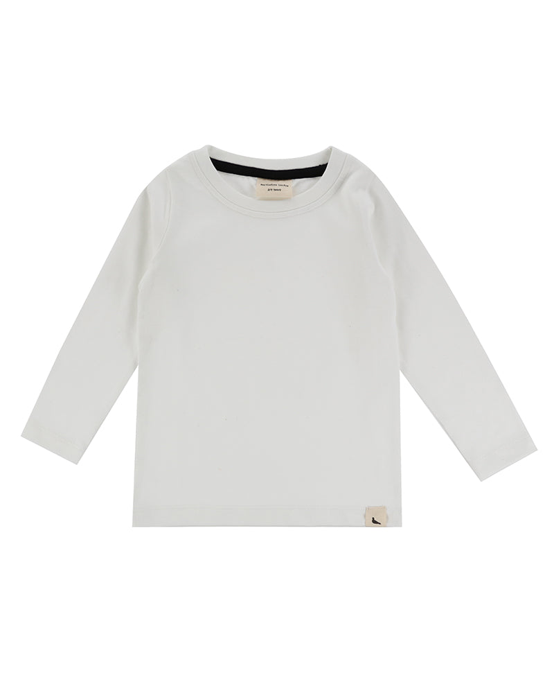 White Turtledove London two-pack layering tops, long sleeve. Made of 100% organic cotton.