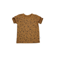 Gender neutral kids t-shirt handmade using amazing organic designer cotton from Europe.