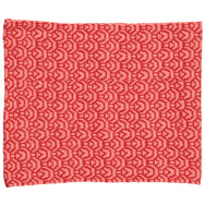 Cashmere-Wool Kids Knitted Scarf/Coral (Origami paper)