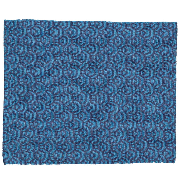 Cashmere-Wool Kids Knitted Scarf/Indigo (Origami paper)