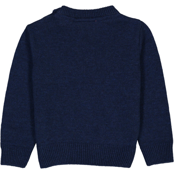 Cashmere-Wool Kids Jacquard Sweater