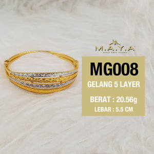 MG008 GELANG 5 LAYER
