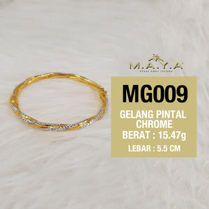 MG009 GELANG PINTAL CHROME