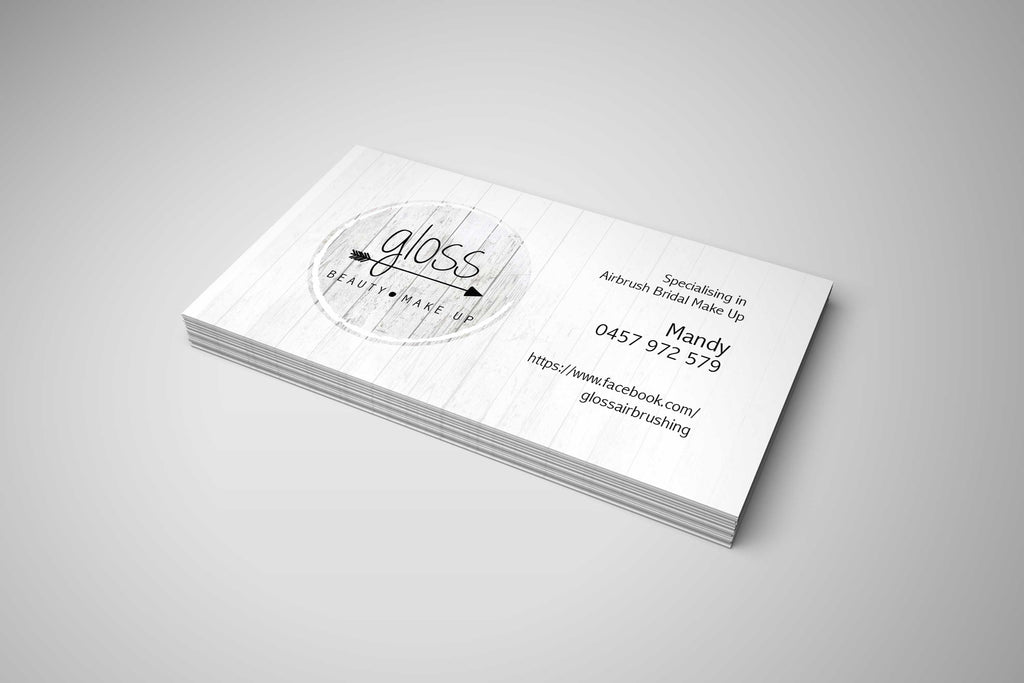Silk Laminated Business Cards Chromatix Printing Online Printing