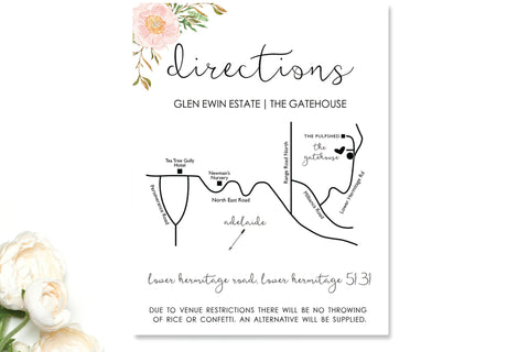 Map / Direction Cards