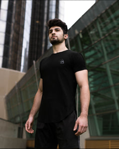 Scoop Shirt- Stealth Black