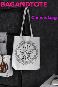 DAY IN PARK WITH CANVAS TOTE BAGS