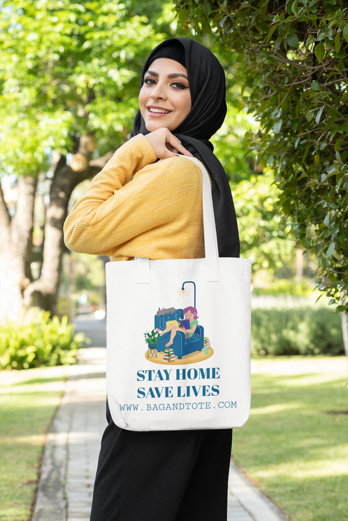 Shop Safe During Covid 19 With Canvas Tote Bags
