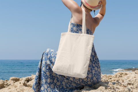 Canvas Tote Bags For Beach