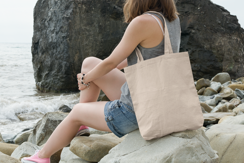 Cheap Beach Canvas Tote Bags