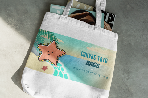 Eco Canvas Tote Bags