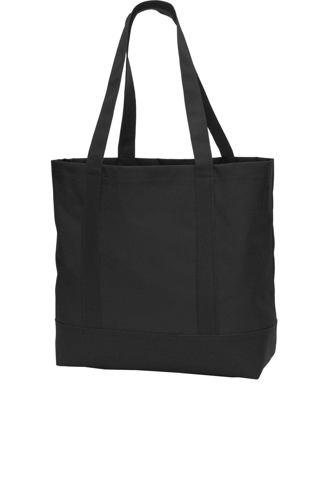 BAGANDTOTE CANVAS TOTE BAG BLACK Day Polyester Canvas Tote bag