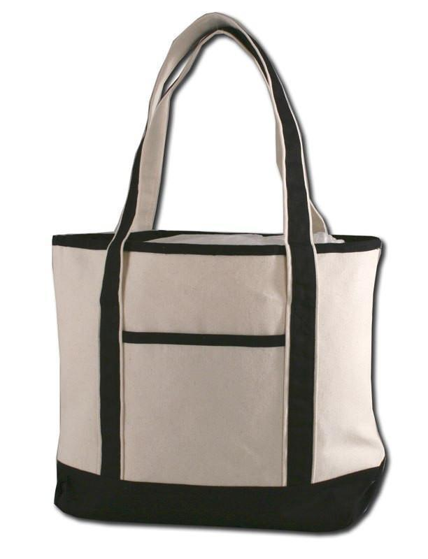 BAGANDTOTE CANVAS TOTE BAG BLACK SMALL HEAVY CANVAS TOTE BAG
