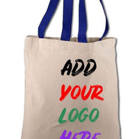 BAGANDTOTE CANVAS TOTE BAG CUSTOM COTTON CANVAS TOTE BAGS WITH CONTRAST HANDLES