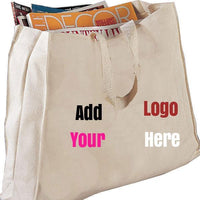 BAGANDTOTE CANVAS TOTE BAG CUSTOM FULL GUSSET HEAVY CHEAP CANVAS TOTE BAGS
