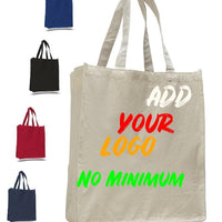 BAGANDTOTE CANVAS TOTE BAG CUSTOM HEAVY SHOPPER CANVAS TOTE BAG