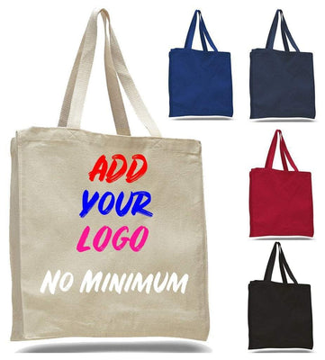 BAGANDTOTE CANVAS TOTE BAG CUSTOM HEAVY WHOLESALE CANVAS TOTE BAGS WITH FULL GUSSET