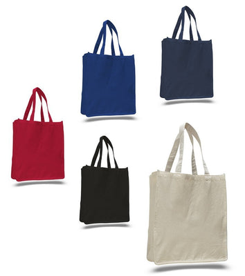 BAGANDTOTE CANVAS TOTE BAG HEAVY CANVAS SHOPPER TOTE BAG