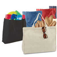 Jumbo Canvas Tote Bag Web Handles