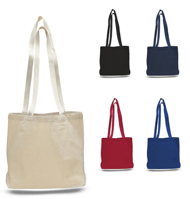 BAGANDTOTE CANVAS TOTE BAG Large Canvas Value Messenger Tote Bags