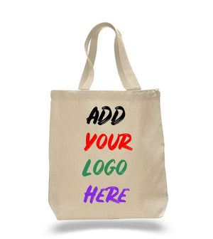 BAGANDTOTE CANVAS TOTE BAG NATURAL CUSTOM COTTON CANVAS TOTE BAGS WITH CONTRAST HANDLES