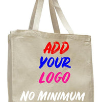 BAGANDTOTE CANVAS TOTE BAG NATURAL CUSTOM HEAVY WHOLESALE CANVAS TOTE BAGS WITH FULL GUSSET