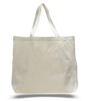 BAGANDTOTE CANVAS TOTE BAG NATURAL Jumbo Canvas Wholesale Tote Bag with Long Web Handles