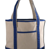 BAGANDTOTE CANVAS TOTE BAG ROYAL SMALL HEAVY CANVAS TOTE BAG