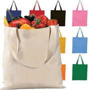 BAGANDTOTE CANVAS TOTE BAG Set Of ( 100 Bags ) High Quality Canvas Tote Bags